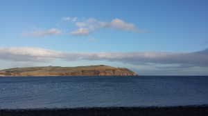 Sunny view across the Cromarty Firth