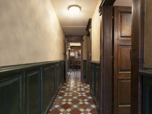 Corridor Postcard
