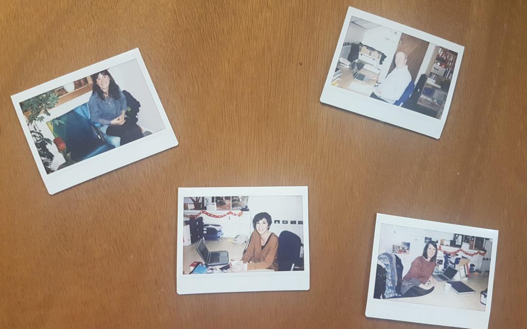 Team Photo on Door