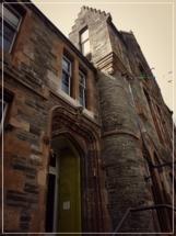 Dunoon Burgh Hall - front door