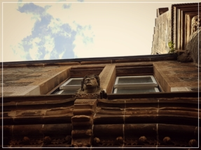 Dunoon Burgh Hall - stonework