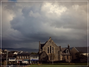 Dunoon Burgh Hall - view from behind