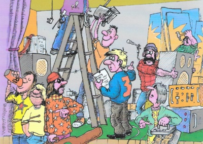 Young Promoters Pack 1, cartoons produced by Chris Tyler, commissioned by Duncan MacInnes.
