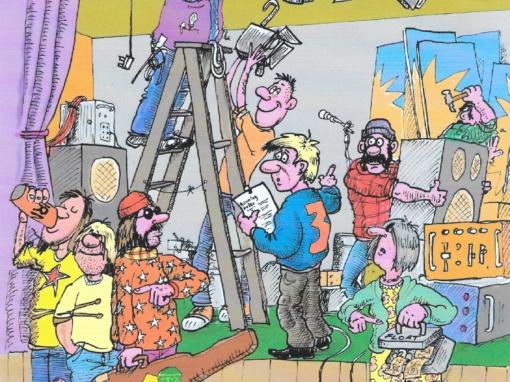 ORIGINAL PAN ILLUSTRATIONS – CHRIS TYLER, COMMISSION BY DUNCAN MCINNES
