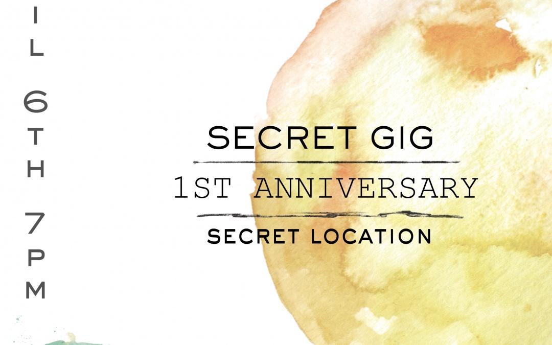 Sofar Inverness 1st Birthday – SECRET ACTS