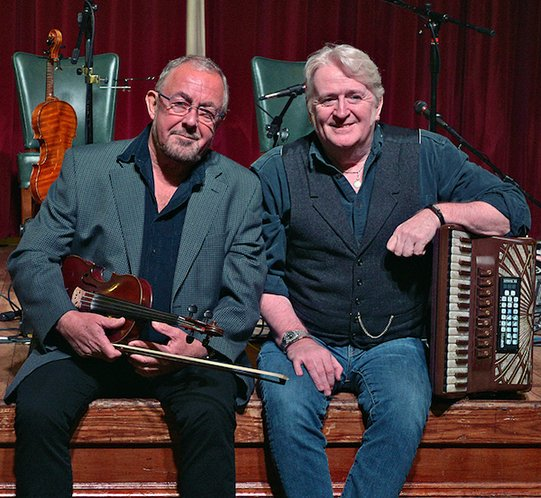 CANCELLED – Traditional concert with the legendary Aly Bain and Phil Cunningham