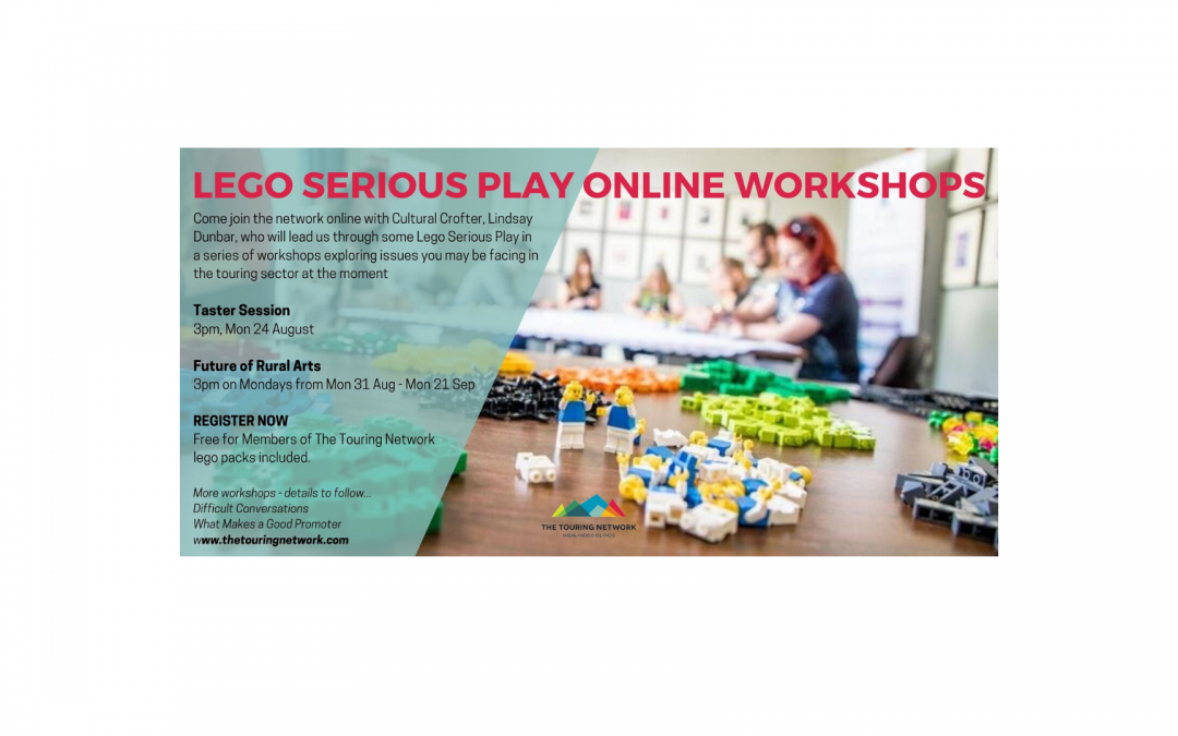 You're invited / Lego Serious Play Online Workshops
