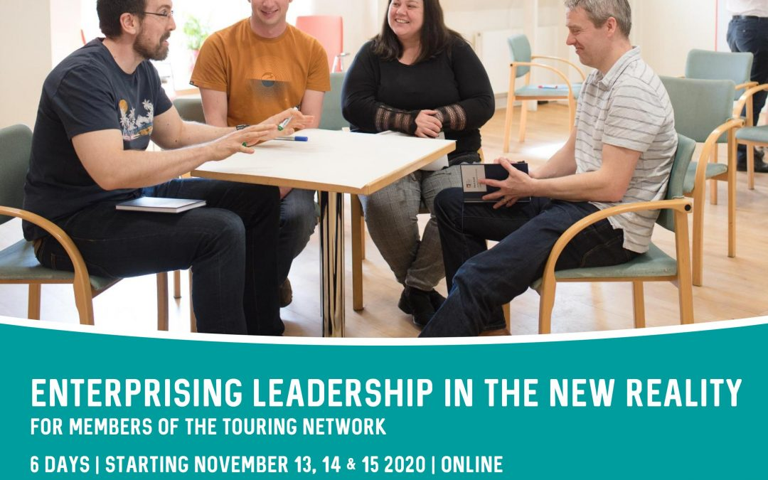 Enterprising leadership in the new reality / Course for Arts promoters and performers across Highlands & Islands
